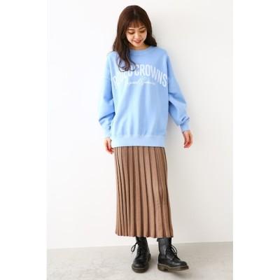 【ロデオクラウンズ/RODEO CROWNS】 ワイドリブニットスカート