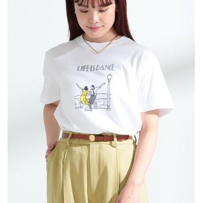 【ビームス ウィメン/BEAMS WOMEN】 NAIJEL GRAPH × Ray BEAMS / 別注 Dance Tシャツ