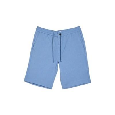 リンドーバーグ メンズ カジュアルパンツ ボトムス Relaxed Shorts LT BLUE MIX