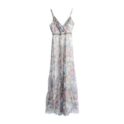 MIKAEL ロングワンピース&ドレス アイボリー 10 ポリエステル 100% ロングワンピース&ドレス