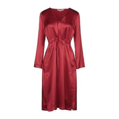 L' AUTRE CHOSE シルクドレス ファッション  レディースファッション  ドレス、ブライダル  パーティドレス レッド