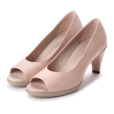 エコー ECCO Shape 55 Peep Toe Sleek (ROSE DUST)