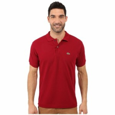 ラコステ Lacoste メンズ ポロシャツ トップス L1212 Classic Pique Polo Shirt Bordeaux