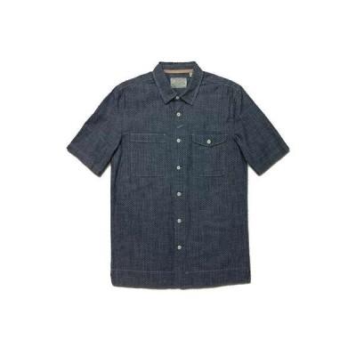 ジェレミア メンズ シャツ トップス Jeremiah Men's Merrick Printed Chambray Shirt