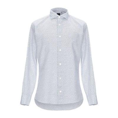 イレブンティ ELEVENTY シャツ ダークブルー 40 コットン 100% シャツ