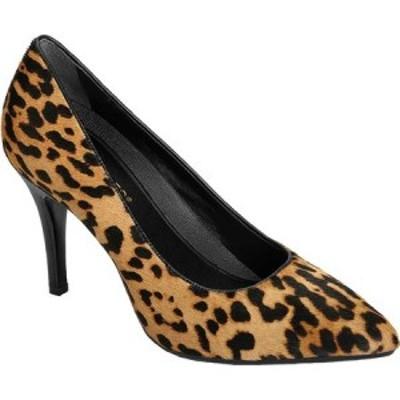 エアロソールズ Aerosoles レディース パンプス シューズ・靴 Platinum Deal Breaker Pump Leopard Cowhair Leather