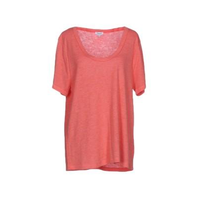 スプレンディド SPLENDID T シャツ サーモンピンク XS レーヨン 85% / ポリエステル 15% T シャツ