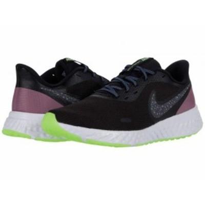 Nike ナイキ レディース 女性用 シューズ 靴 スニーカー 運動靴 Revolution 5 SE Black/Metallic Dark Grey/Plum Dust【送料無料】