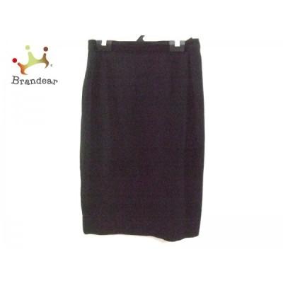 レキップ ヨシエイナバ L'EQUIPE YOSHIE INABA スカート サイズ9 M レディース 黒             スペシャル特価 20190719