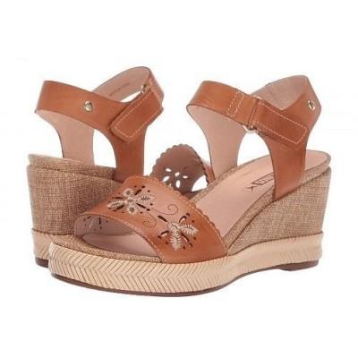 Pikolinos レディース 女性用 シューズ 靴 ヒール Mojacar W7R-1684 - Brandy