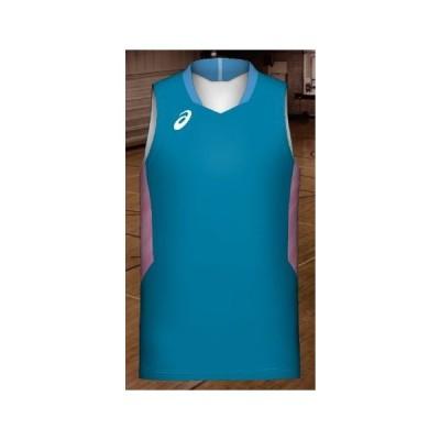 アシックス プリントオーダーコンポ受注生産 ゲームシャツ(メンズ)バスケットボールウエア PA12P