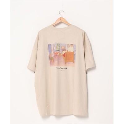 PR01. / スーパーオーバーサイズビッグTシャツ ビッグシルエットドロップショルダーTシャツ MEN トップス > Tシャツ/カットソー
