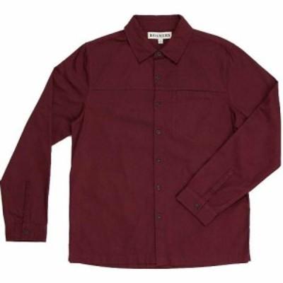 ロアマーズ Roamers メンズ シャツ トップス Plaskett Shirt Merlot