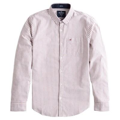 【並行輸入品】【メール便送料無料】ホリスター メンズ カジュアルシャツ ( ストレッチ オックスフォード ) Hollister Stretch Oxford Muscle Fit Shirt