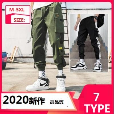 2020春夏秋スポーツウェア 運動 メンズパンツ 韓国ファッション パンツ メンズ 黒 カジュアル   ボトムス カラーパンツ メンズファッション ストレッチ スキニーパンツS86