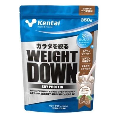 ケンタイ ウエイトダウン SOYプロテイン ココア風味 1kg プロテイン (K1240)