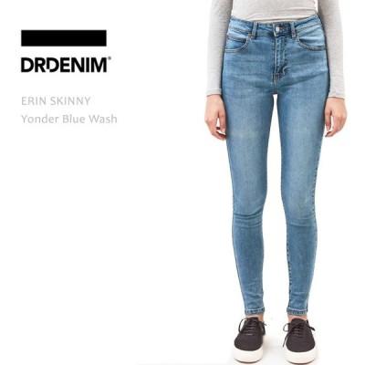 【SALE】【20%OFF】Dr Denim ドクターデニム ERIN HIGH RISE SKINNY Yonder Blue Wash
