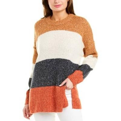 メイドウェル レディース ニット&セーター アウター Madewell Baxter Alpaca-Blend Sweater marled umber