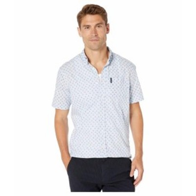 Ben Sherman ベンシャーマン 服 一般 Short Sleeve Sailboat Print Shirt