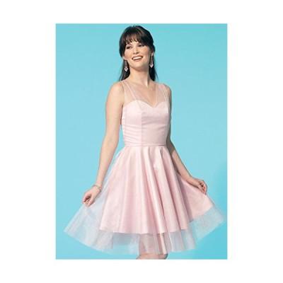 【McCall】4種類のワンピースドレスの型紙セット サイズ:US6-8-10-12-14  7281 [並行輸入品]