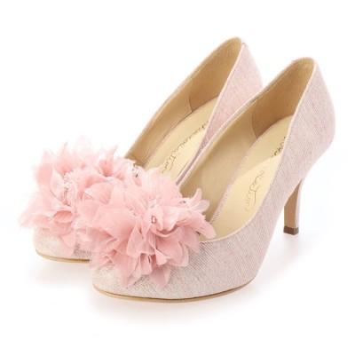 シューズラウンジ shoes lounge リボン パンプス 9781024PIS (ピンク)