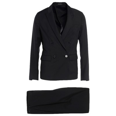 エンポリオ アルマーニ EMPORIO ARMANI スーツ ブラック 50 バージンウール 100% スーツ