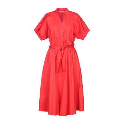 FLY GIRL 7分丈ワンピース・ドレス レッド XS コットン 98% / ポリウレタン 2% 7分丈ワンピース・ドレス