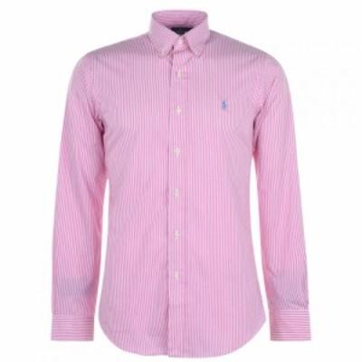 ラルフ ローレン Polo Ralph Lauren メンズ シャツ トップス Check Custom Shirt Pink/White