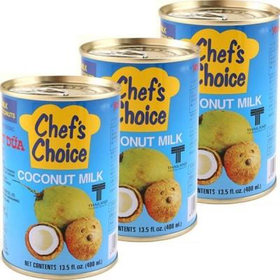 ココナッツミルク ココナツミルク(4号缶)400g 1セット(3缶) ユウキ食品