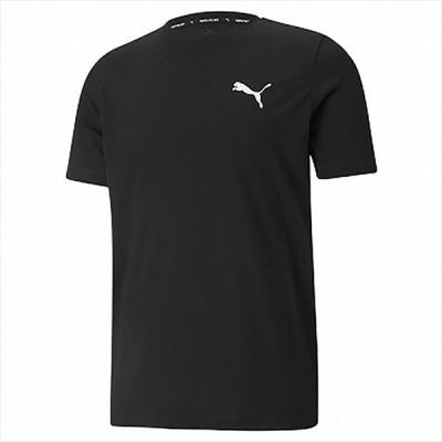 [PUMA]プーマ ACTIVE スモールロゴ Tシャツ (588866)(01) プーマ ブラック[取寄商品]