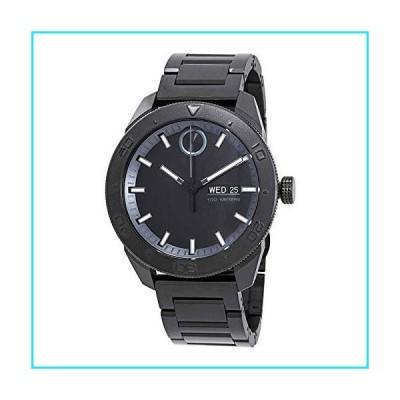 Movado Bold Quartz Movement Black Dial Men's Watch 3600512【並行輸入品】