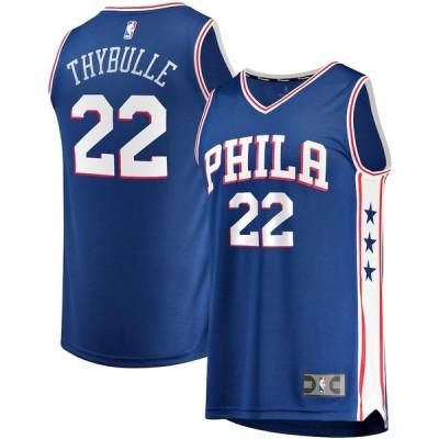 """ファナティックス メンズ ジャージ Matisse Thybulle """"Philadelphia 76ers"""" Fanatics Branded Fast Break Replica Player Team Jersey - Icon Edition - Royal"""