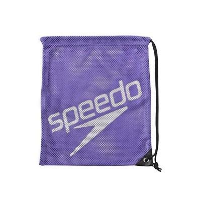 Speedo(スピード) バッグ プール 水泳 メッシュバック M SD96B07 ヴァイオレット VI