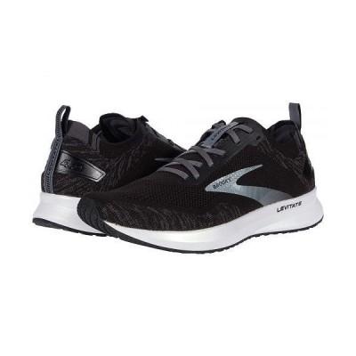 Brooks ブルックス メンズ 男性用 シューズ 靴 スニーカー 運動靴 Levitate 4 - Black/Blackened Pearl/White