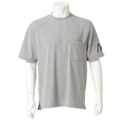 メンズ 【ミズノ直営店限定】M-LINE ポケットTシャツ[ユニセックス] 05グレー杢 L ウエア 半袖 D2JA0S01