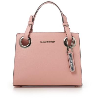 サマンサベガ ロゴベルトバッグ(小) ピンク