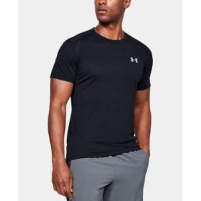 アンダーアーマー メンズ Tシャツ トップス Men's Logo T-Shirt Black