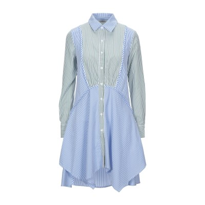 CUBIC ミニワンピース&ドレス グリーン XS ポリエステル 77% / コットン 23% ミニワンピース&ドレス