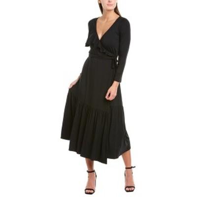 レイチェルパリー レディース ワンピース トップス Rachel Pally Nadine Wrap Midi Dress black