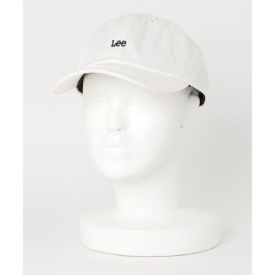 帽子 キャップ 【LEE/リー】ツイルロゴローキャップ ワンポイント 刺繍
