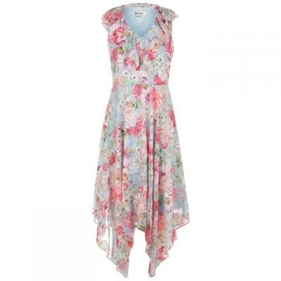 ケンジー Kensie レディース ワンピース ワンピース・ドレス Slvless Dress SKY MULTI