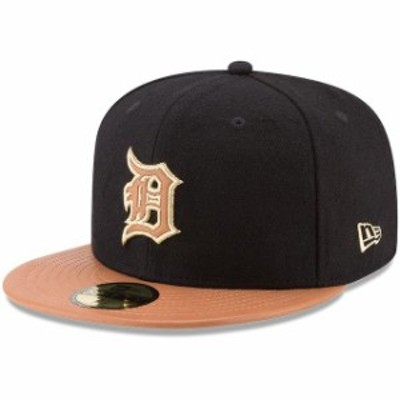 New Era ニュー エラ スポーツ用品  New Era Detroit Tigers Black/Natural Wilson Collaboration 59FIFTY Fitted Hat