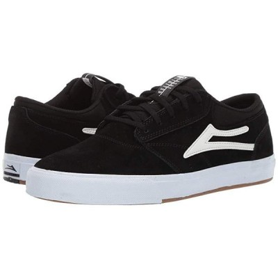 Lakai Griffin メンズ スニーカー 靴 シューズ Black Suede 4