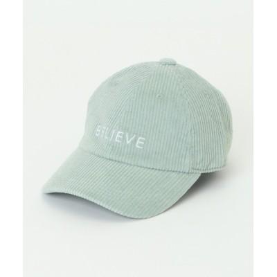 ikka LOUNGE / 【キッズ】コーデュロイ刺繍CAP KIDS 帽子 > キャップ