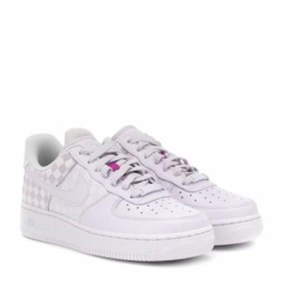 ナイキ Nike レディース スニーカー シューズ・靴 Air Force 1 leather sneakers Bargra/Bargra