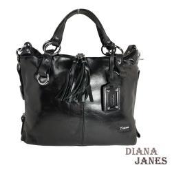 真皮包【Diana Janes 黛安娜】時尚經典流蘇包