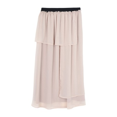 RUE•8ISQUIT 7分丈スカート ベージュ 38 ポリエステル 100% 7分丈スカート