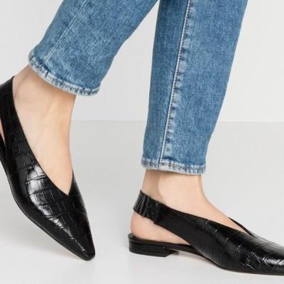 ザイン レディース 靴 シューズ Slingback ballet pumps - black