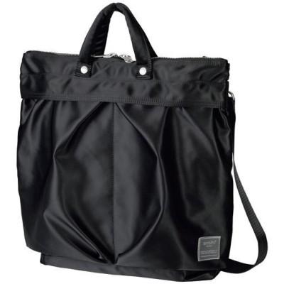ノートパソコンの持ち運びに便利 2WAYトートバッグ(アネロ)(ATT0504)/ブラック
