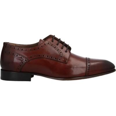 ステファノ ブランキーニ STEFANO BRANCHINI メンズ シューズ・靴 laced shoes Brown